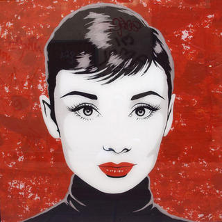 Audrey Herpburn (01) by Antonio de Felipe