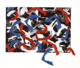 Blue and Red by Dario Villalba