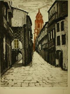 Santiago de Compostela by Alfonso Ayuso