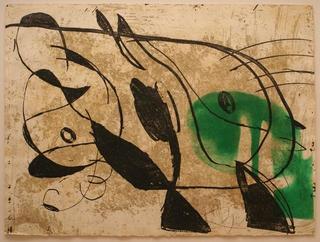 Comedia del Arte 66 by Joan Miró