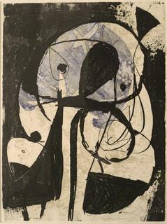 Comedia del Arte 69 by Joan Miró