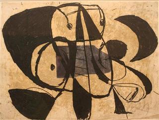 Comedia del Arte 70 by Joan Miró