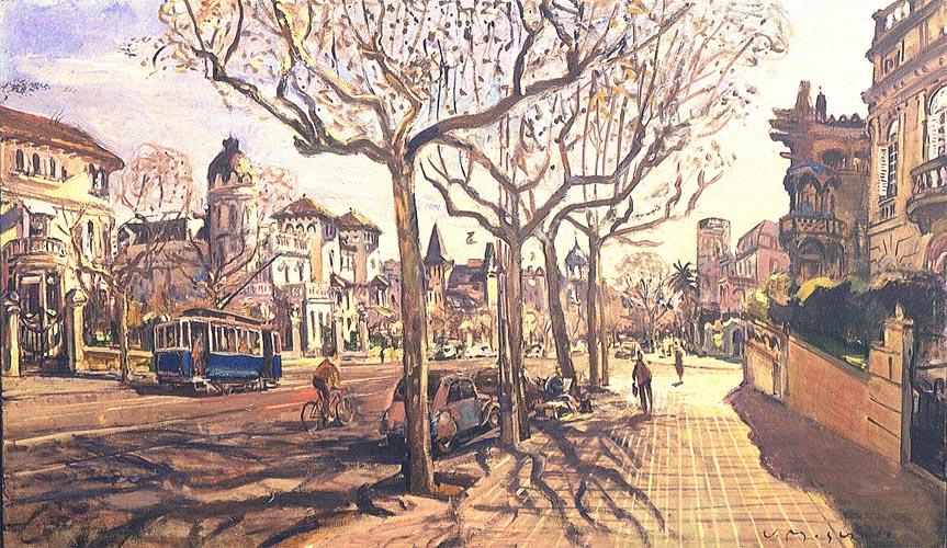 Avinguda Dr. Andreu by José Moscardó