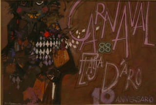 Carnival Poster by Isidro Vilaseca
