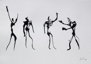 Quatro Homens by Luis Quintano Navarro