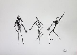 As Três Graças by Luis Quintano Navarro
