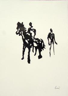 Homens e Cabalo by Luis Quintano Navarro