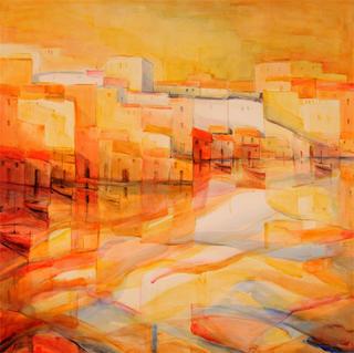 Red  Symphony by Nuria Trius