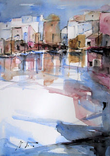 Port Corner by Nuria Trius