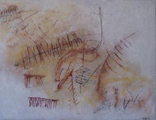 Canvas nº 004 by Edith Pintar