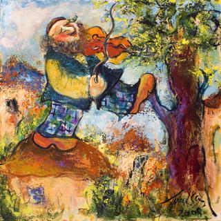 Fiddler on the Roof by Malka Tsentsiper