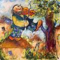 Fiddler on the Roof by Malka Tsentsiper