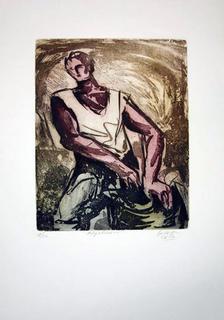 Cotton Farmer by Alfonso Guerra Calle