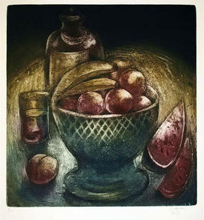 The Fruit bowl by Alfonso Guerra Calle