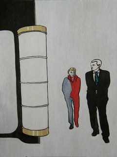 Anonymous Series: Les Flanneurs by Nicolas Calvo