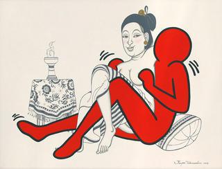 Lovers (8) by Jirapat Tatsanasomboon