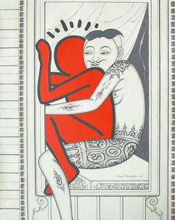 Lovers (10) by Jirapat Tatsanasomboon