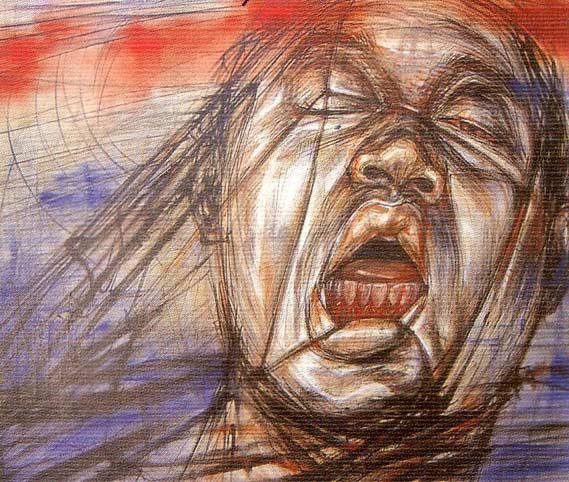 victim original art by santi thongsuk picassomio