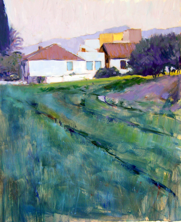 Farmhouse in the Afternoon by María Mora Ramirez