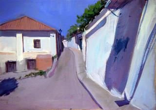 Street from Albaycín by María Mora Ramirez