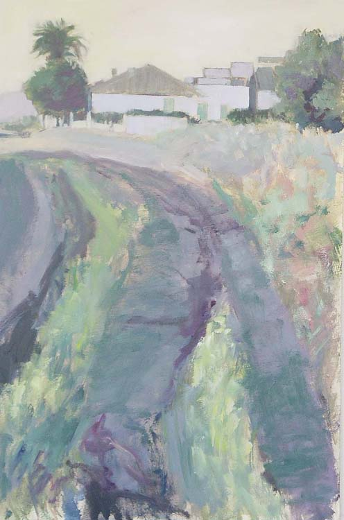 Country Path by María Mora Ramirez