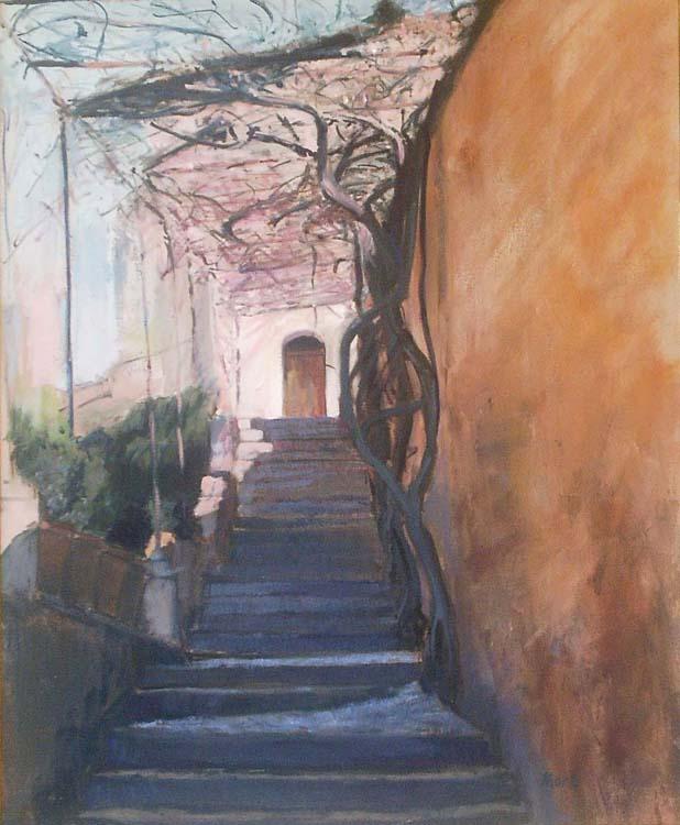 Stairs by María Mora Ramirez