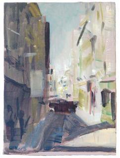 Mesones Street by María Mora Ramirez