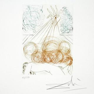 Cymbeline - Portfolio Shakespeare II Suite by Salvador Dalí