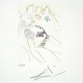 Henry IV - Portfolio Shakespeare II Suite by Salvador Dalí