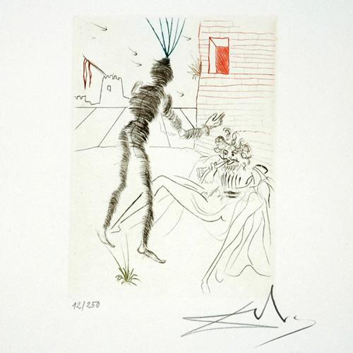 Henry V - Portfolio Shakespeare II Suite by Salvador Dalí