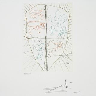 Henry V - 02 - Portfolio Shakespeare II Suite by Salvador Dalí