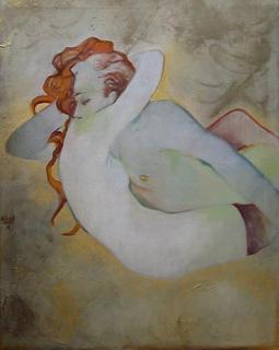 Embracing Figures by Natividad Jiménez