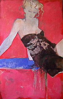 Shawl by Natividad Jiménez