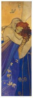 Blue Embracing by Natividad Jiménez