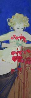 Ibiscus Flowers by Natividad Jiménez