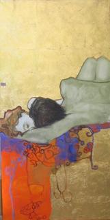 Resting  Figures by Natividad Jiménez