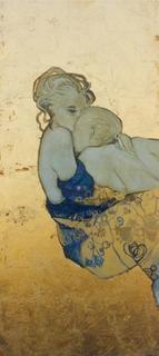 Embracing by Natividad Jiménez