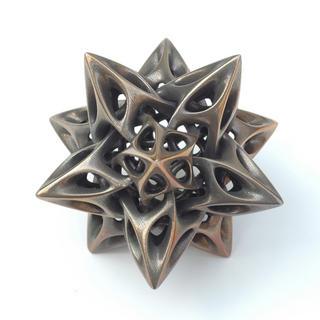 Dodecahedron I by Vladimir Bulatov