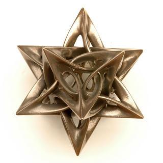 Dodecahedron IX by Vladimir Bulatov