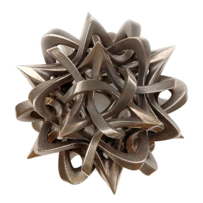 Rhombic Triacontahedron III by Vladimir Bulatov