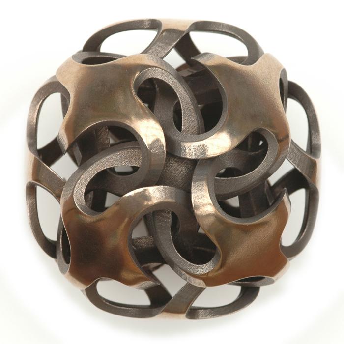 Rhombic Dodecahedron I by Vladimir Bulatov