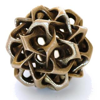 Dodecahedron VII by Vladimir Bulatov