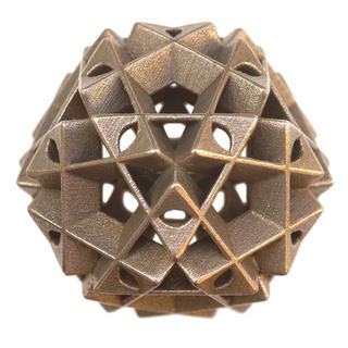 Icosahedron V by Vladimir Bulatov