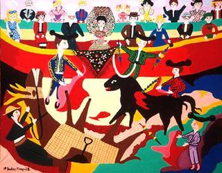 The Bullfighting by Blanca Sagastizabal