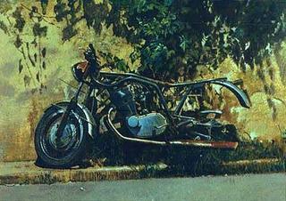 Motorbike by Angelo Vadalá