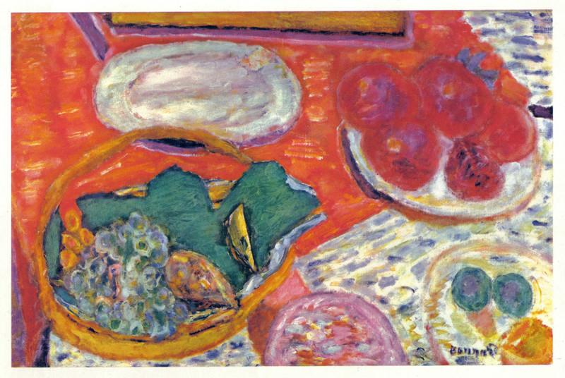 Nature morte au Jambon (aka Sill life with Ham) by Pierre Bonnard