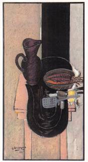 La Tabla de cuisine (aka The kitchen table) by Georges Braque