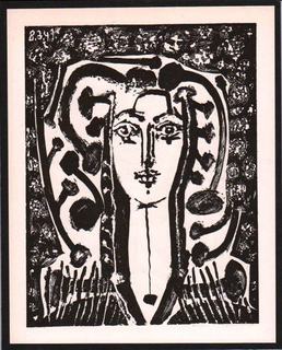 Buste modern style by Pablo Picasso