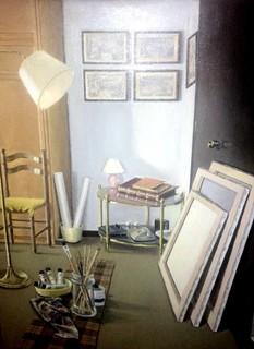 Estudio de un pintor by Gustavo López-Cobo