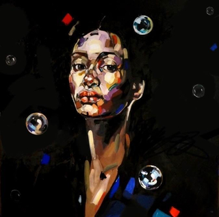 GIRL WITH BUBBLES by Anna Bocek
